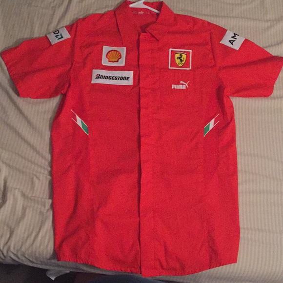 Puma Ferrari Formula 1 Men Shirt